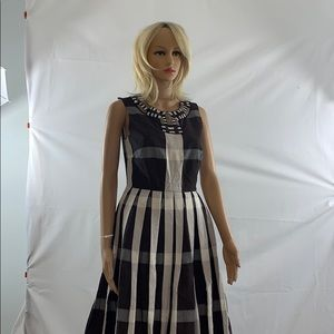 NWT Anthropologie sleeveless plaid dress size 4
